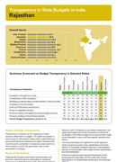 Transparency-in-State-Budgets-in-India---Rajasthan