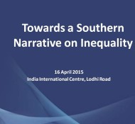 Towards a Southern Narrative on Inequality