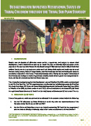 pol__0025_Budgeting for Nutritional Status of Tribal Children through TSP