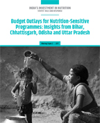 Budget outlays for nutrition-sensitive interventions