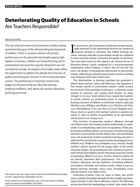 essay on deteriorating relationship between teachers and students